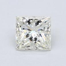 1.00 Carat 公主方形 Diamond 非常好 K VS2