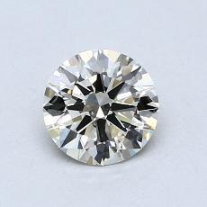 0.70 Carat 圆形 Diamond 理想 K VS2