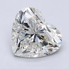 2.00-Carat Heart Diamond Very Good J SI2