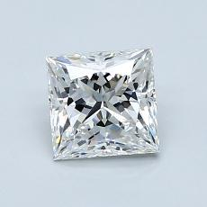 1.06-Carat Princess Diamond Very Good F VS1