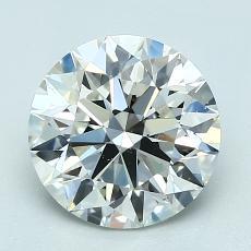 2,01 Carat Rond Diamond Idéale I VS2