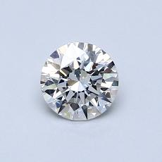 0.52 Carat 圓形 Diamond 理想 G VVS1