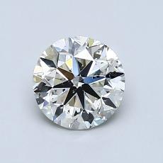1.00-Carat Round Diamond Very Good K SI2