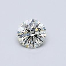 0.41-Carat Round Diamond Ideal K SI1