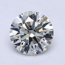 目前的寶石: 1.51  克拉圓形切割