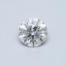 0.41-Carat Round Diamond Ideal F SI2