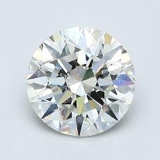 1.20-Carat Round Diamond Ideal I IF