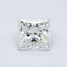 0.80-Carat Princess Diamond Very Good F VS2