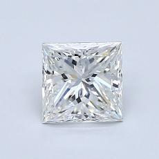 Recommended Stone #1: 1.00-Carat Princess Cut Diamond
