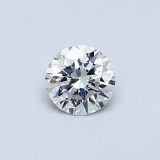0,40 Carat Rond Diamond Idéale F VVS2
