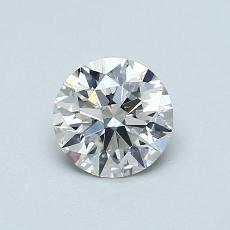 0,71 Carat Rond Diamond Idéale H VS2