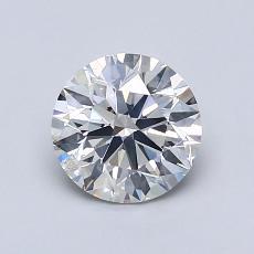 1,01 Carat Rond Diamond Idéale I SI2