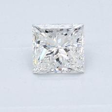 Recommended Stone #2: 0.54-Carat Princess Cut Diamond