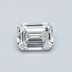 Recommended Stone #4: 0.56-Carat Emerald Cut Diamond