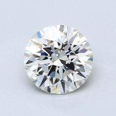 1.04 Carat 圆形 Diamond 理想 I VVS2