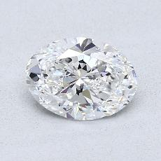 Recommended Stone #2: 0.74-Carat Oval Cut Diamond