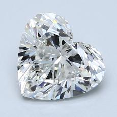 Recommended Stone #3: 2.11-Carat Heart Cut Diamond
