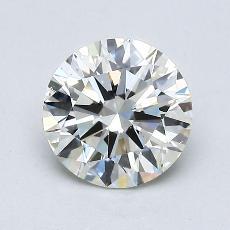 1,02-Carat Round Diamond Ideal K SI2
