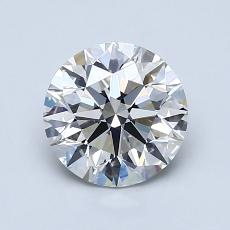 1,30-Carat Round Diamond Ideal G VS1