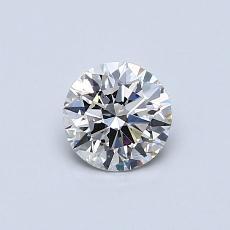 0.50 Carat Redondo Diamond Ideal I SI2