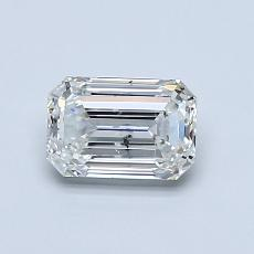 Recommended Stone #3: 0.80-Carat Emerald Cut Diamond