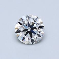 推荐宝石 3:0.70克拉圆形切割钻石