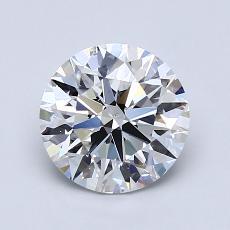 1.51-Carat Round Diamond Ideal D VS2