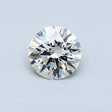 0.50 Carat Redondo Diamond Ideal K SI2