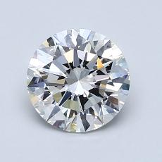 1.20-Carat Round Diamond Ideal F VS2