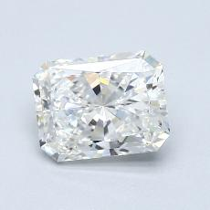 Recommended Stone #4: 1,30-Carat Radiant Cut Diamond