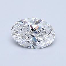 Recommended Stone #4: 0.74-Carat Oval Cut Diamond