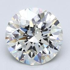 2.01 Carat 圓形 Diamond 理想 I VS1