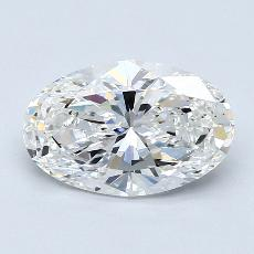 Recommended Stone #3: 2,01-Carat Oval Cut Diamond
