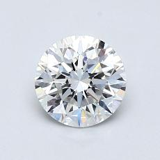 Recommended Stone #4: 0,76-Carat Round Cut