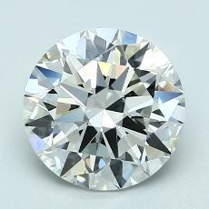 2.01 Carat 圆形 Diamond 理想 I VS1