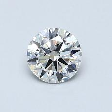 0.52-Carat Round Diamond Ideal H VS2