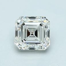 Recommended Stone #4: 1.07-Carat Asscher Cut Diamond
