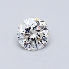 0.52 Carat 圆形 Diamond 理想 G VVS2
