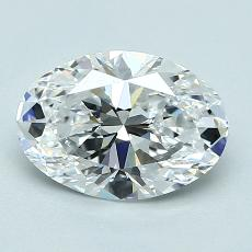 Recommended Stone #2: 1,52-Carat Oval Cut