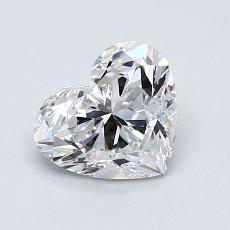 Current Stone: 1.01 Carat Heart Shaped