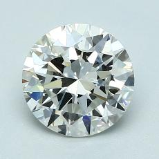 1.50-Carat Round Diamond Ideal I VVS1