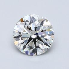1.03-Carat Round Diamond Ideal H VVS2