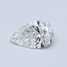 Recommended Stone #1: 0.53-Carat Pear Cut Diamond