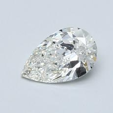 Recommended Stone #2: 0.70-Carat Pear Cut Diamond
