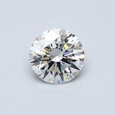 0.52 Carat 圆形 Diamond 理想 E VVS1