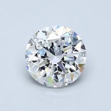 1.00 Carat 圓形 Diamond 良好 F VS2