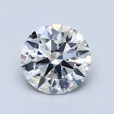 1.06 Carat 圆形 Diamond 理想 H VS1