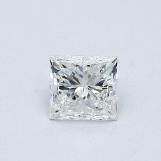 推薦鑽石 #4: 0.42  克拉公主方形鑽石