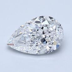 推薦鑽石 #2: 1.20 克拉梨形鑽石