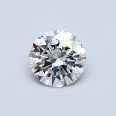 Current Stone: 0.53-Carat Round Cut